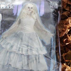 Adult Delux Ghost Bride Halloween Costume